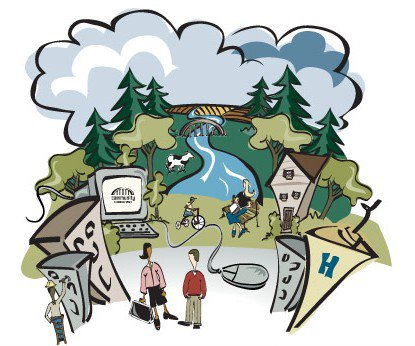 Log on side graphic