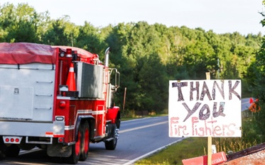 Thank you Fire Fighters